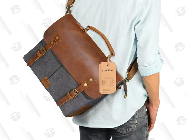 Ditch Your Laptop Bag and Get a Stylish New One For Just $24