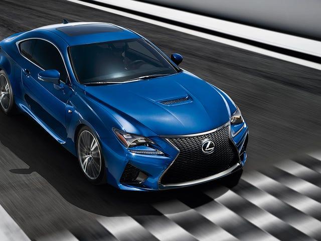 ¿Por qué obtendrías eso?  2015 Lexus RC F