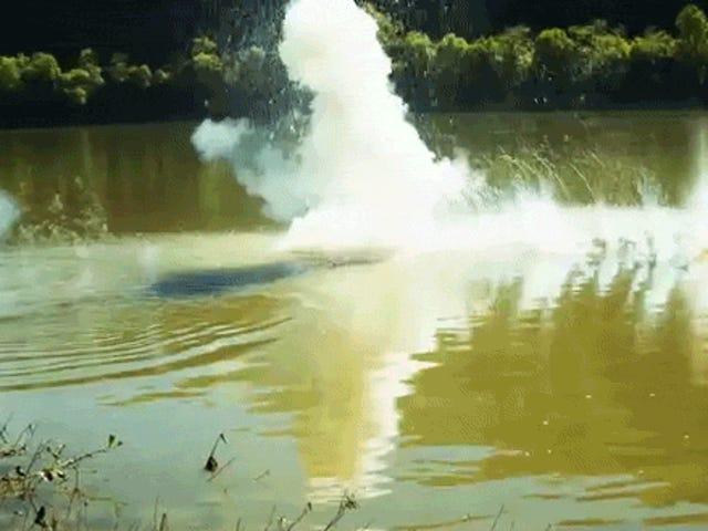 Пропуск фунта натрію через озеро є набагато більше задоволення, ніж пропуск скелі
