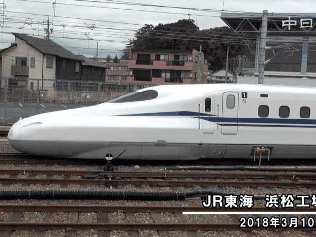 Japón trabaja en una nueva versión del tren bala con mejor diseño, estará listo para los Juegos Olímpicos