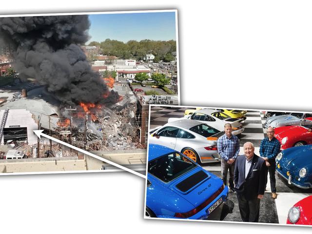 Explosión fatal de gas cerca de la colección Porsche de Carolina del Norte (Actualización)