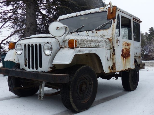 I Drove My $500 Postal Jeep Only a Few Miles but It Was Still Sketchy as Hell