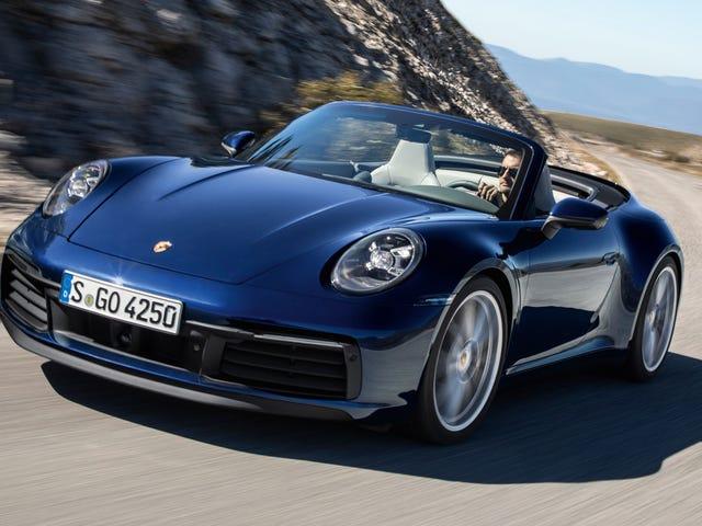 Chiếc Porsche 911 Carrera 4S Cabriolet 2020 gần như nhanh như chiếc 911 Turbo Cabriolet hiện tại