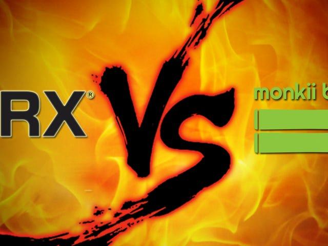 Εκκαθάριση αναστολέα αναστολέα: TRX vs μπάρες monkii 2
