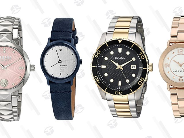 Keep Track Of Time (And Savings) With This One-Day Watch Sale From Amazon