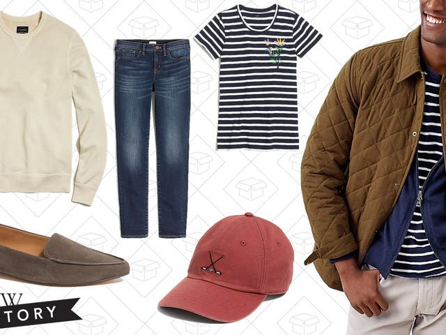 J.Crew Factory Is Back Again With an Extra 30% Off Everything