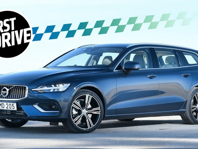 The 2019 Volvo V60 Is Even Cooler Than Its Plaid Seats