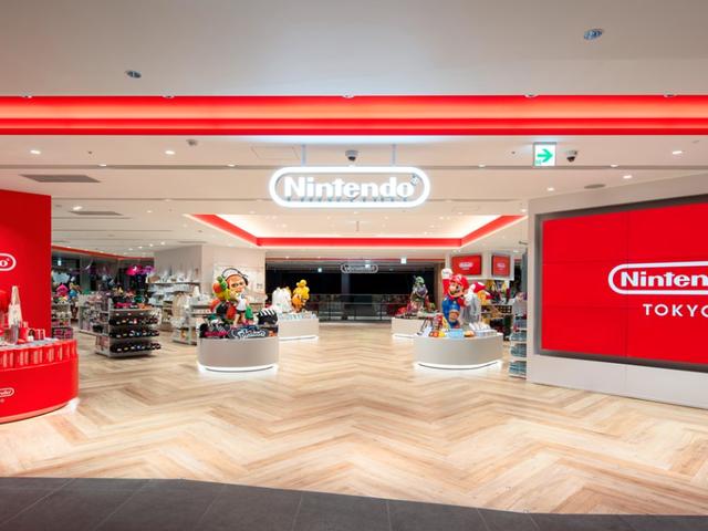 Inuti Japans första Nintendo-butik