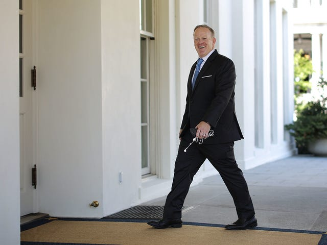 숀 스파이 서 (Sean Spicer)의 경우 모든 도로 <i>Dancing With the Stars</i> 을 <i>Dancing With the Stars</i>