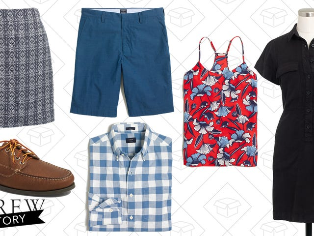 Today's The Last Day To Get an Extra 50% Off Sale Items at J.Crew Factory