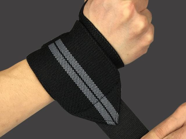 Adjustable Wristband Elastic Wrist Wraps for Power-lifting
