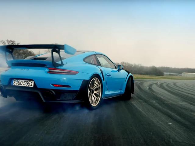 You Can Drift a Porsche 911 GT2 RS Through Second, Third, Fourth Gear (If You're Chris Harris)