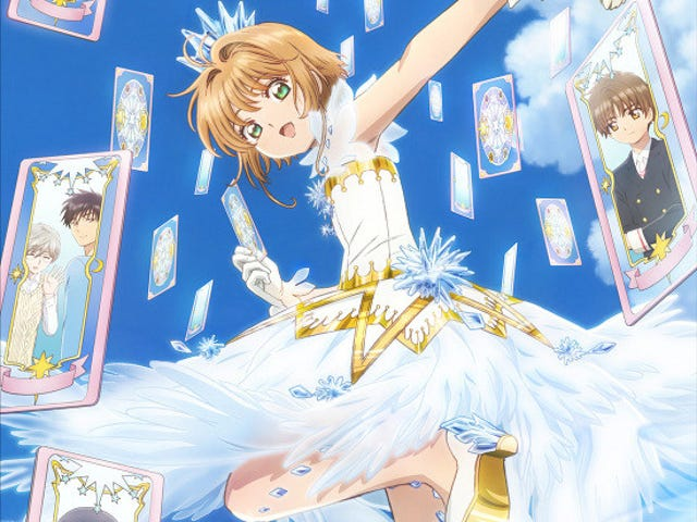 here it is the new visual of Card Captor Sakura: Clear Card