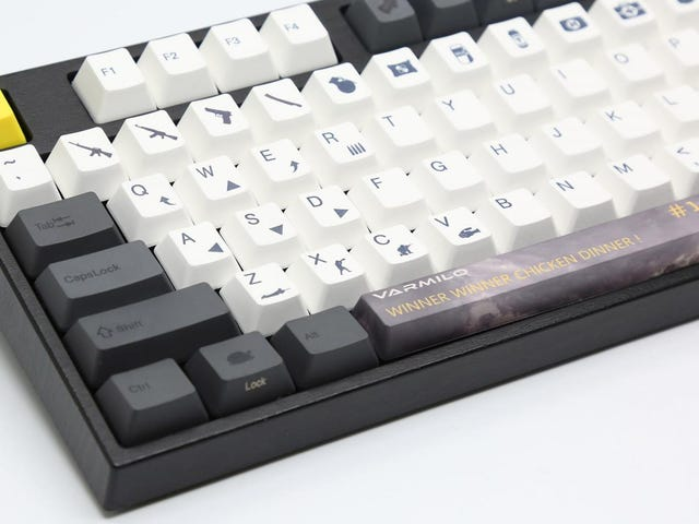A Keyboard For Serious PUBG Players