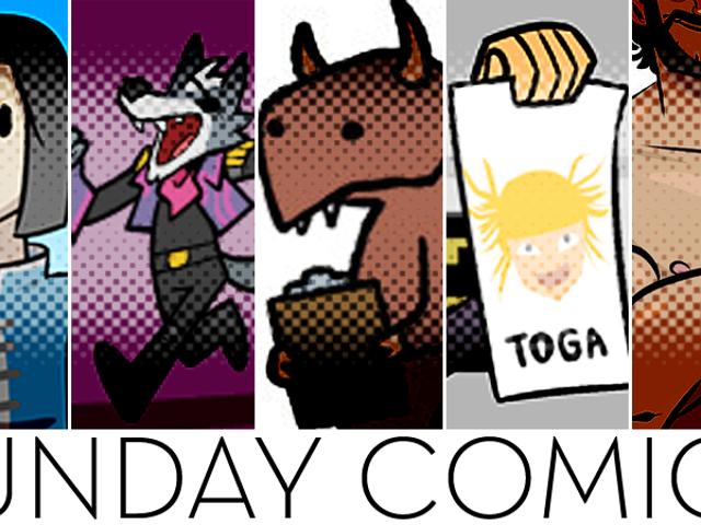 Sunday Comics: Adult Things