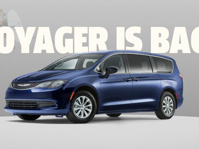 Chrysler ramène le nom de Voyager comme une réprimande de la Pacifica d'entrée de gamme