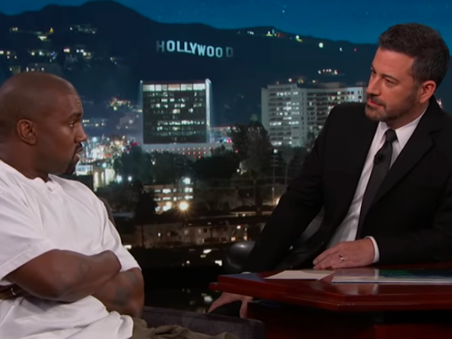 Kanye West talks to Jimmy Kimmel about being bi-polar, supporting Donald Trump