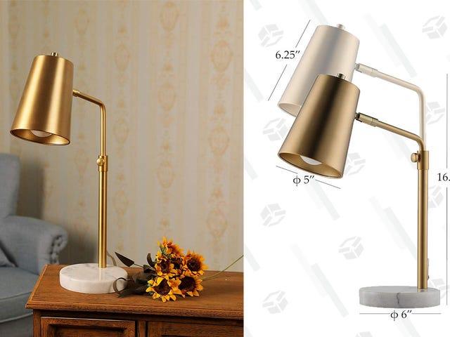 Améliorez votre espace de lecture avec cette lampe de bureau à prix réduit
