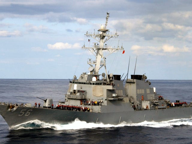 The Navy Hid the USS John S. McCain So Trump Wouldn't See It in Japan: Reports (Update: Trump Confirms)