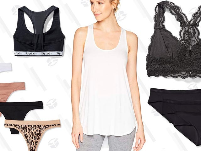 Save Up to 30% off Amazon's Brand of Women's Underwear, Sleepwear, and More