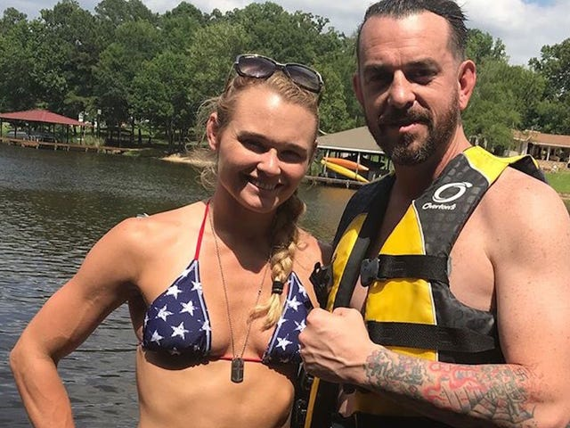 UFC Fighter Andrea Lee's Coach And Husband Apologizes For Nazi Tattoos