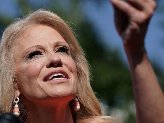 Kellyanne Conway Dismisses House Call to Discuss Accusations She's Been Talking Out of Turn
