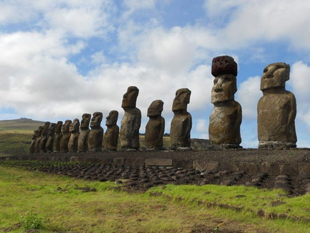 Ingenious Technique Explains How Easter Island Statues May Have Gotten Their Giant Hats