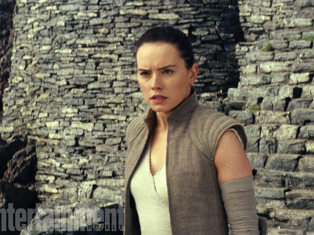 Karakterden İstediği İçin <i>The Last Jedi</i> Rey'in Pastasına Dalacak