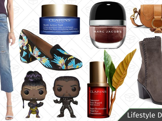 Wednesday's Best Lifestyle Deals: Marc Jacobs Beauty, Frye, Clarins, and More