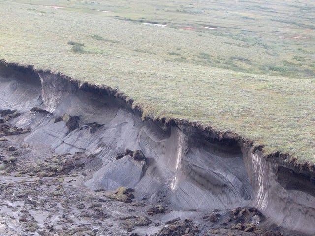 Der Klimawandel löst eine riesige Welle von Erdrutschen auf der kanadischen Insel aus