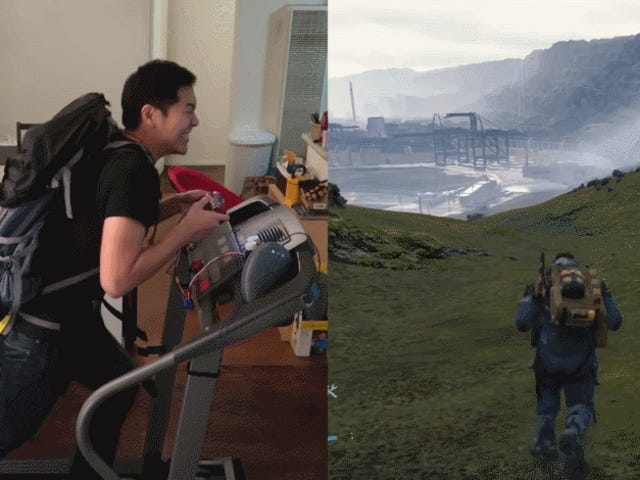 Hiking Gets Even Harder In Death Stranding When The Controller Is A Treadmill
