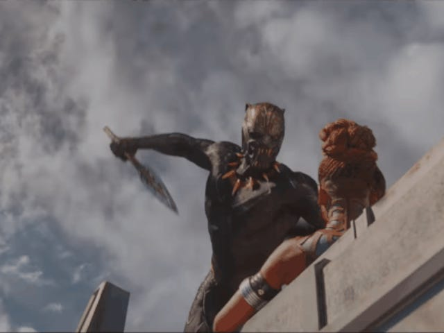 The Battle for the Throne Begins in the IncredibleBlack PantherInternational Trailer