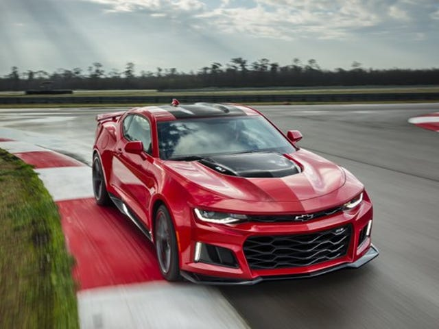 The new ZL1 has the same transmission as the Ford F-150 Raptor