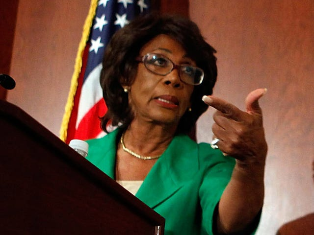 Hold Up ... Did Whitey McWhiteMan Just Tell Auntie Maxine to 'Stop Talking About Discrimination'?