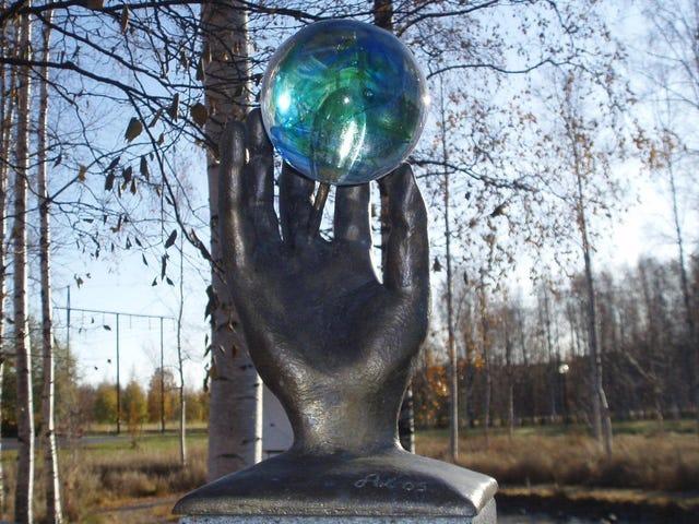 Solsystemets største skala er spredt over hele Sverige
