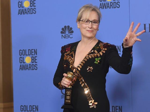 Η Meryl Streep εμπνέει δωρεές για τον Feisty, Free Press
