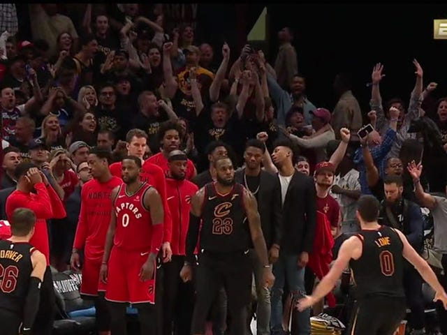 Cleveland Takes 3-0 Series Lead On LeBron James Buzzer-Beater