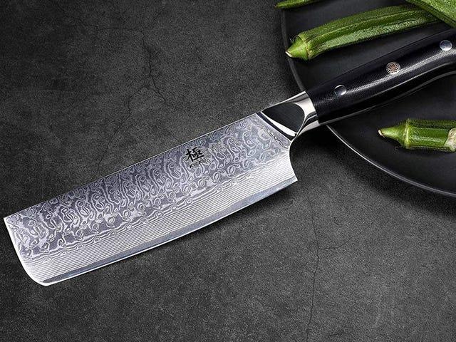 Koleksiyonunuza Kyoku'nun Nakiri Bıçağı Ekleyin ve Sebzeleri Profesyonel Gibi Kesin
