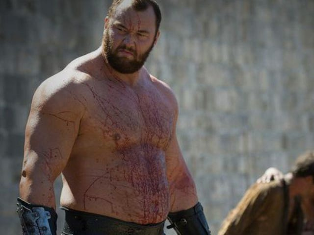 Game Of ThronesのMountainが1000年前の強さの記録を破りました