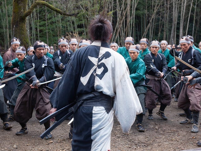 Takashi Miike's New Movie About an Immortal Samurai Looks Bananas