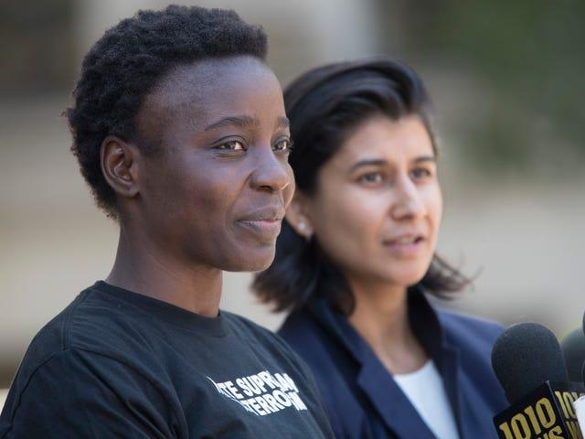 """""""Lady Liberty"""" Patricia Okoumou nie pójdzie do więzienia na protest 4 lipca"""