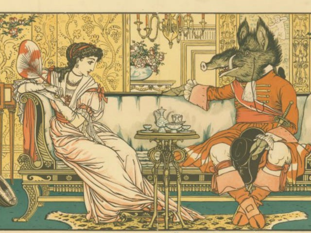 'Beauty and the Beast' Comes From a Long Line of Stories About Women Hooking Up With Animals