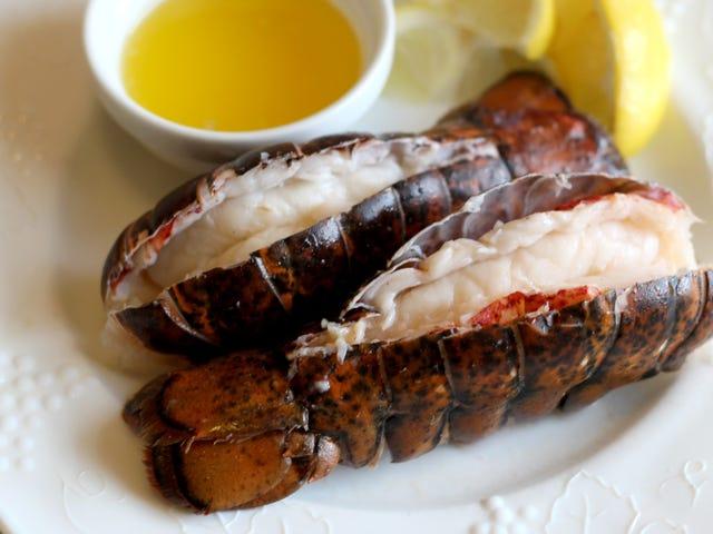Vanilla Butter Sous-Vide Lobster Tails Are Your Valentine's Day Dinner
