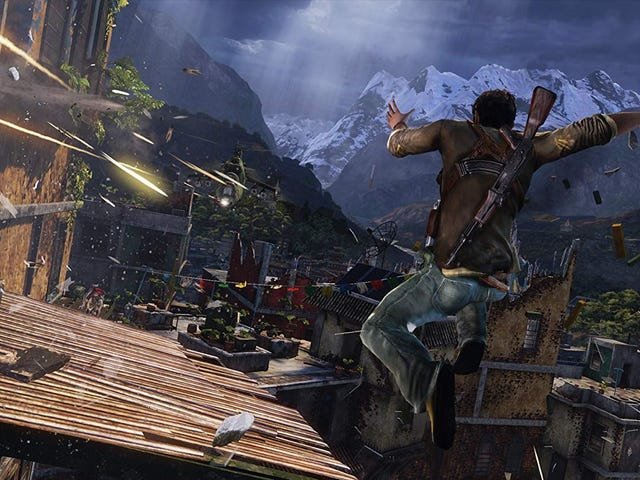 Did You Know That Uncharted's Damage Meter Is Actually 'Luck'?