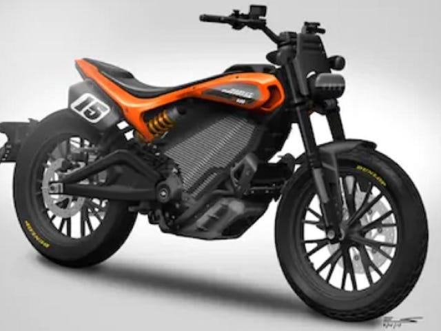 Harley-Davidson's Next Electric Motorcycle Has Incredible Flat Track Energy