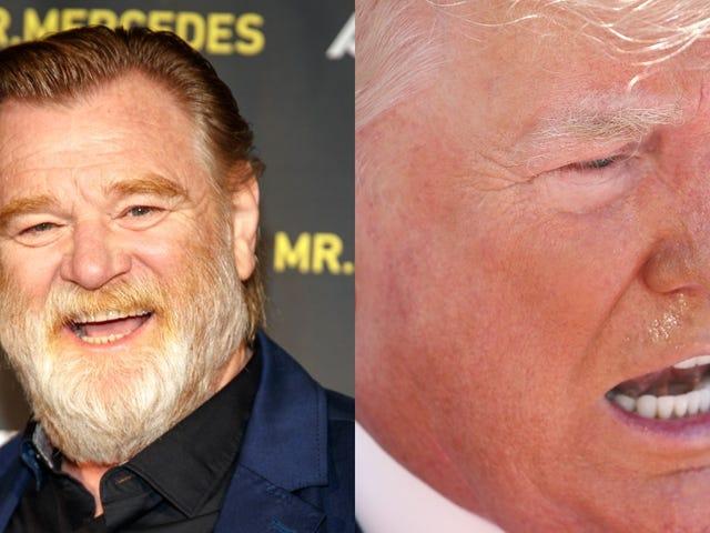 Brendan Gleeson's playing Trump in a miniseries based on James Comey's memoir