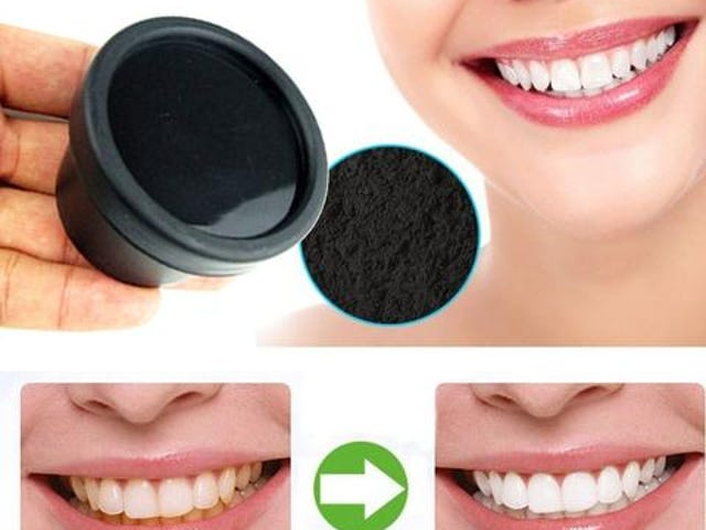 Activated Charcoal Bamboo Toothpaste Teeth Whitening Powder