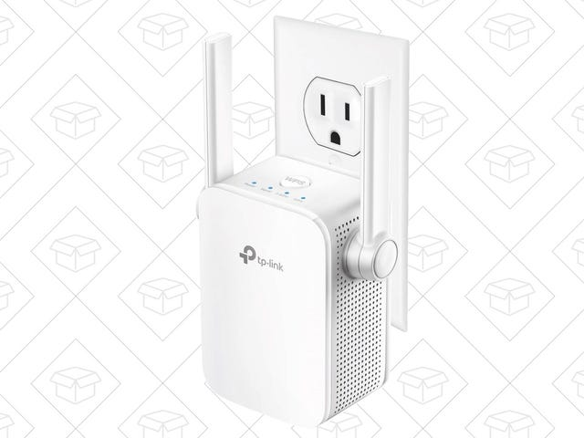 Fill In Your Wi-Fi Gaps With This Highly Rated, $30 Range Extender