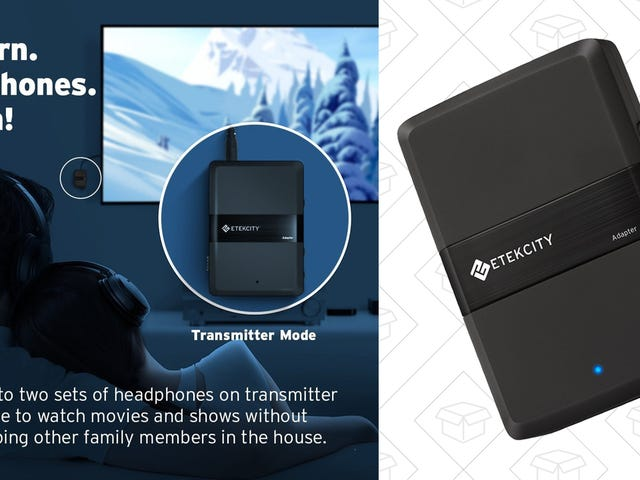 Transmit and Receive Bluetooth Audio With This Affordable Dongle