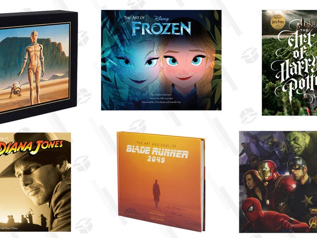 The Movie Art Books That Deserve to Be On Your Shelf